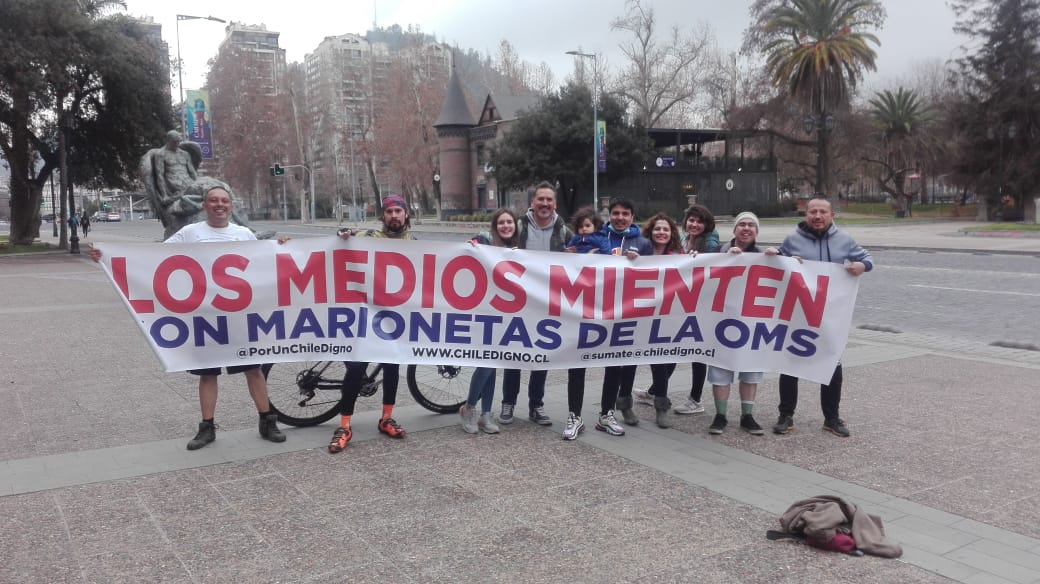 Chile Digno irresponsables MAAnsNE