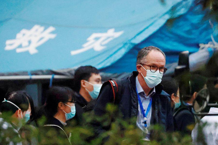 Expertos de la OMS visitan hospital que atendió a primeros pacientes con Covid-19 en Wuhan NMHDXE