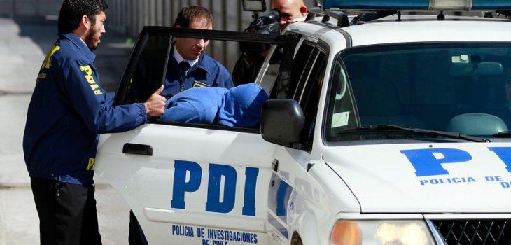 Operativo PDI arresto-domiciliario