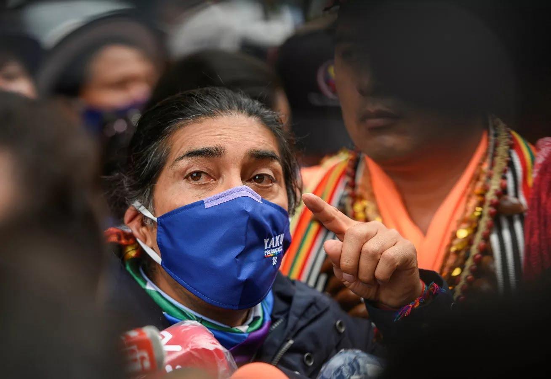 Yaku Pérez Reuters AA3