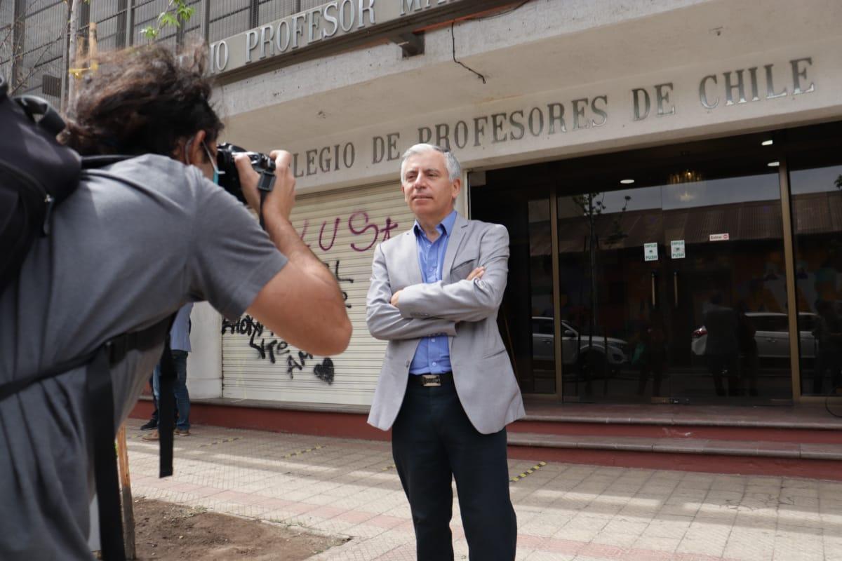 Carlos Díaz Marchant Presidente Colegio de Profesores