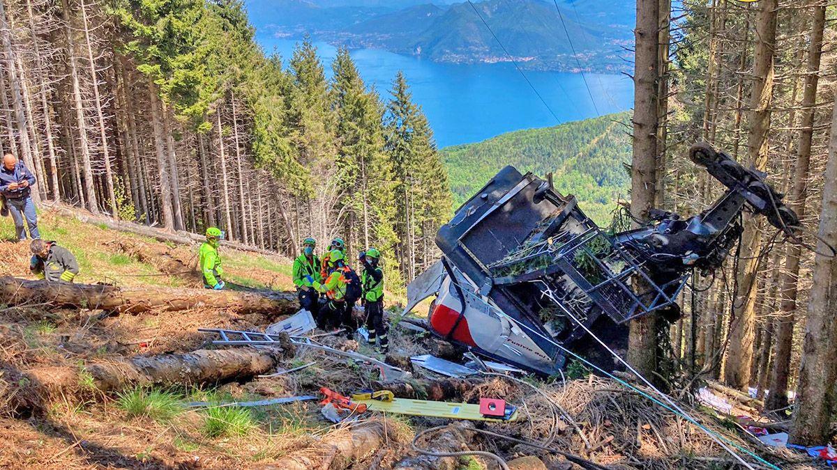 teléferico en italia accidente _-1024x683